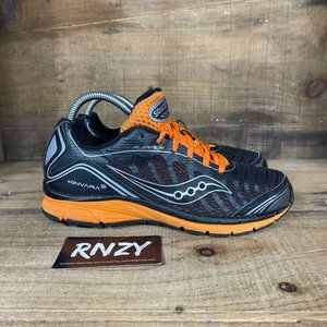 Saucony Kinvara 3 Black Orange Athletic Sneakers